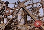 Image of collapsed metal stack Nagasaki Japan, 1946, second 62 stock footage video 65675042187