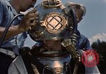 Image of deep sea diver United States USA, 1943, second 11 stock footage video 65675042215
