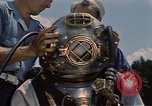 Image of deep sea diver United States USA, 1943, second 12 stock footage video 65675042215