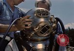 Image of deep sea diver United States USA, 1943, second 13 stock footage video 65675042215