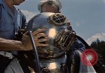 Image of deep sea diver United States USA, 1943, second 14 stock footage video 65675042215