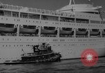 Image of British liner Canberra New York United States USA, 1962, second 33 stock footage video 65675042224