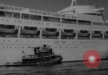 Image of British liner Canberra New York United States USA, 1962, second 34 stock footage video 65675042224