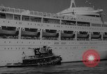 Image of British liner Canberra New York United States USA, 1962, second 35 stock footage video 65675042224