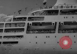 Image of British liner Canberra New York United States USA, 1962, second 36 stock footage video 65675042224