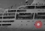 Image of British liner Canberra New York United States USA, 1962, second 37 stock footage video 65675042224