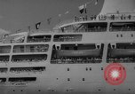 Image of British liner Canberra New York United States USA, 1962, second 38 stock footage video 65675042224
