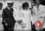 Image of Jacquelin Kennedy Rome Italy, 1962, second 20 stock footage video 65675042226