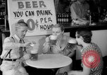 Image of Schepps Beer offered at special price of 60 cents an hour Dallas Texas United States USA, 1935, second 28 stock footage video 65675042250