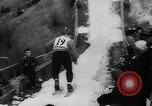 Image of ski championship Garmisch-Partenkirchen Germany, 1959, second 19 stock footage video 65675042281