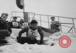 Image of ski championship Garmisch-Partenkirchen Germany, 1959, second 38 stock footage video 65675042281