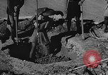 Image of house on fire China, 1945, second 22 stock footage video 65675042297