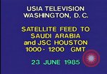 Image of satellite launch from space shuttle Washington DC USA, 1985, second 2 stock footage video 65675042299