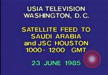 Image of satellite launch from space shuttle Washington DC USA, 1985, second 3 stock footage video 65675042299