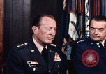 Image of General George S Brown Washington DC USA, 1974, second 36 stock footage video 65675042306