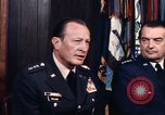 Image of General George S Brown Washington DC USA, 1974, second 37 stock footage video 65675042306