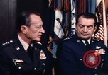 Image of General George S Brown Washington DC USA, 1974, second 38 stock footage video 65675042306