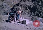 Image of pick axe Bolivia, 1966, second 53 stock footage video 65675042327