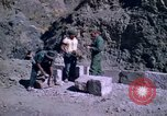 Image of pick axe Bolivia, 1966, second 59 stock footage video 65675042327