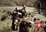 Image of construction of a road Bolivia, 1966, second 20 stock footage video 65675042328