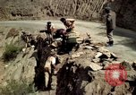 Image of construction of a road Bolivia, 1966, second 25 stock footage video 65675042328