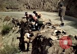 Image of construction of a road Bolivia, 1966, second 27 stock footage video 65675042328