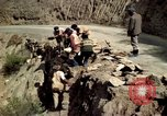Image of construction of a road Bolivia, 1966, second 28 stock footage video 65675042328