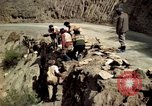 Image of construction of a road Bolivia, 1966, second 29 stock footage video 65675042328