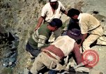 Image of construction of a road Bolivia, 1966, second 35 stock footage video 65675042328