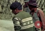 Image of construction of a road Bolivia, 1966, second 41 stock footage video 65675042328