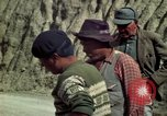 Image of construction of a road Bolivia, 1966, second 43 stock footage video 65675042328