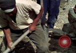 Image of construction of a road Bolivia, 1966, second 52 stock footage video 65675042328