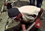 Image of construction of a road Bolivia, 1966, second 54 stock footage video 65675042328
