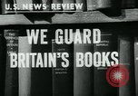 Image of Preserving British books during World War 2 Washington DC USA, 1943, second 2 stock footage video 65675042334