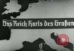 Image of map of Germany Germany, 1936, second 13 stock footage video 65675042335