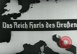 Image of map of Germany Germany, 1936, second 14 stock footage video 65675042335