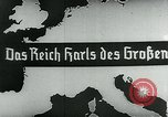 Image of map of Germany Germany, 1936, second 15 stock footage video 65675042335
