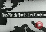 Image of map of Germany Germany, 1936, second 17 stock footage video 65675042335