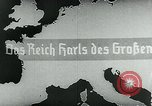 Image of map of Germany Germany, 1936, second 18 stock footage video 65675042335
