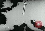 Image of map of Germany Germany, 1936, second 27 stock footage video 65675042335