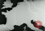 Image of map of Germany Germany, 1936, second 33 stock footage video 65675042335