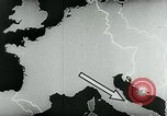 Image of map of Germany Germany, 1936, second 34 stock footage video 65675042335