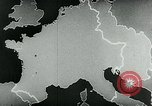 Image of map of Germany Germany, 1936, second 37 stock footage video 65675042335