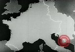 Image of map of Germany Germany, 1936, second 39 stock footage video 65675042335