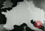 Image of map of Germany Germany, 1936, second 40 stock footage video 65675042335
