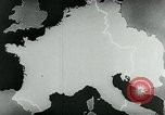 Image of map of Germany Germany, 1936, second 42 stock footage video 65675042335