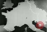 Image of map of Germany Germany, 1936, second 43 stock footage video 65675042335