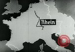 Image of map of Germany Germany, 1936, second 46 stock footage video 65675042335