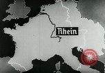 Image of map of Germany Germany, 1936, second 47 stock footage video 65675042335