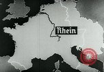 Image of map of Germany Germany, 1936, second 48 stock footage video 65675042335